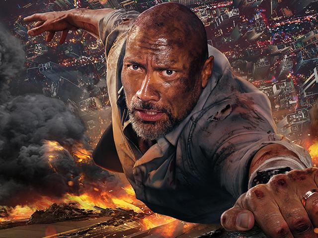 Dwayne The Rock Johnson in Skyscraper: Christian Movie Review
