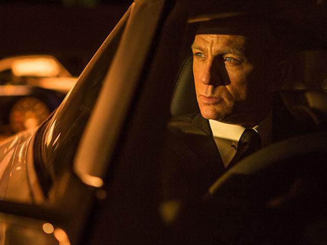 Daniel Craig as James Bond in Spectre movie