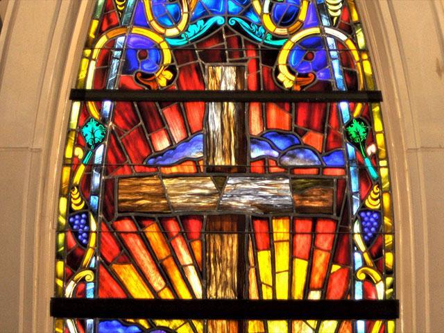 Stain Glass Window AS
