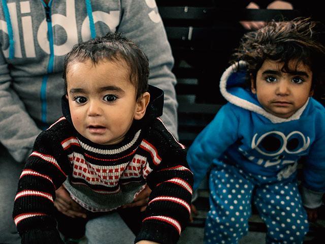 Syrian Children, Photo, AP
