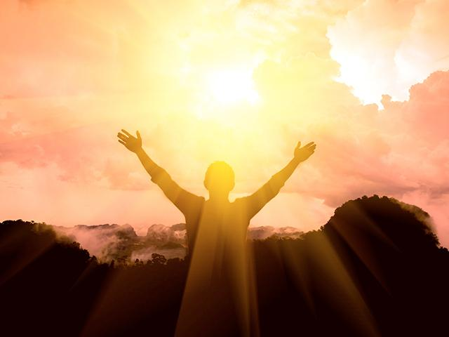 Thank God in the light