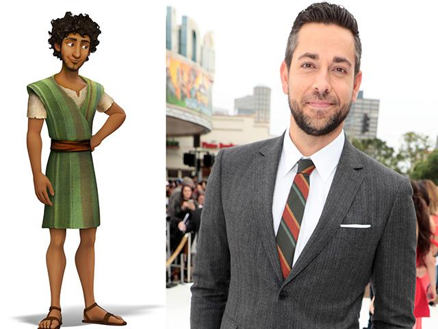 The Star movie, starring Zachary Levi as Joseph