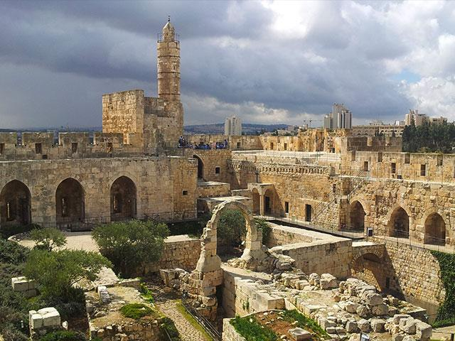 Tower of David Museum. Credit Hamutal Wachtel