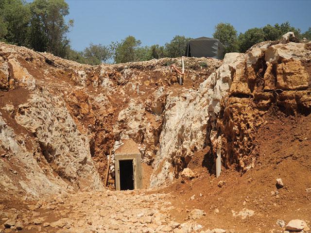 Terror Tunnel opening