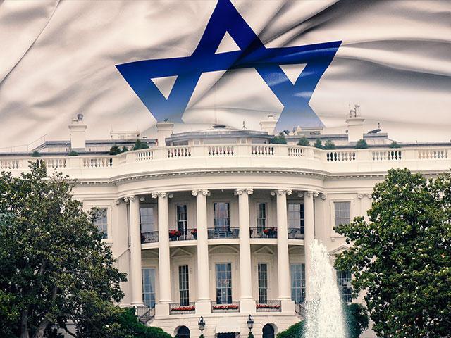 whitehouseisraeliflagas