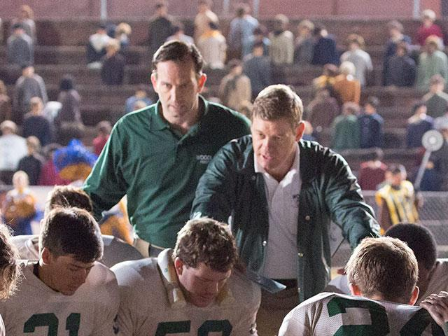 Woodlawn movie, Nic Bishop and Kevin Sizemore