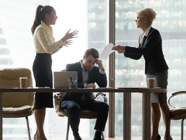 workplace tension between employees