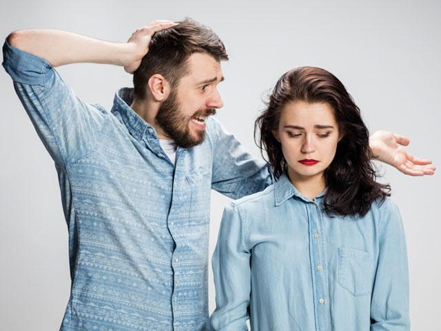 fighting with your spouse