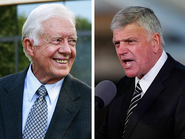 Franklin Graham: President Carter 'Absolutely Wrong' on Jesus Approving of Gay Marriage