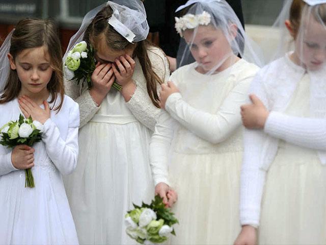 young muslim brides