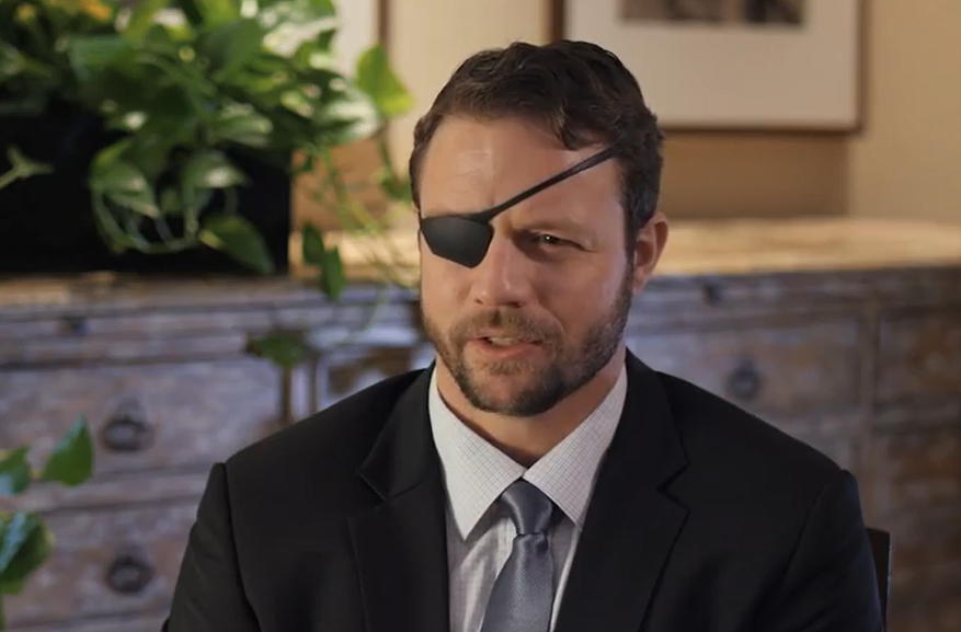 Rep. Dan Crenshaw Asking for Prayers After Undergoing Emergency Eye Surgery