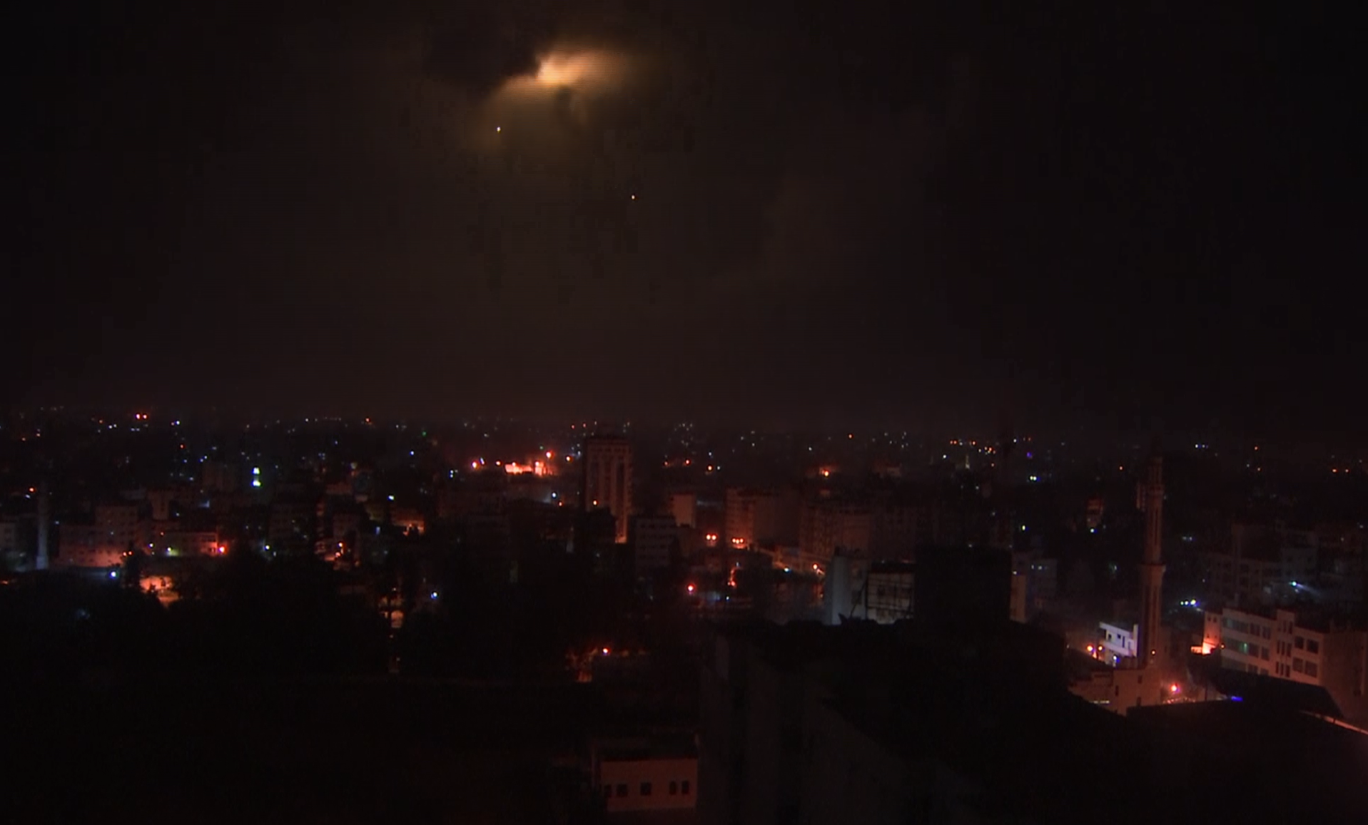 Israel Strikes 100 Hamas Targets After Rocket Attacks on Israeli Citizens