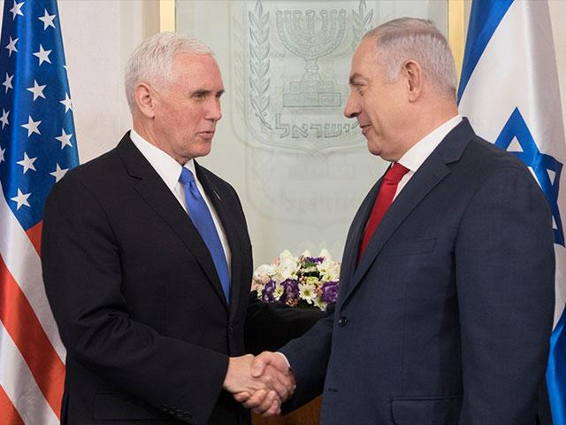 Pence Praises 'the Miracle of Israel,' Pledging to Open US Embassy in Jerusalem in 2019