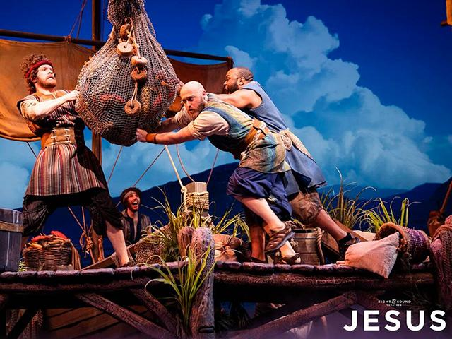"""The Show Must Go On! Sight & Sound's """"Jesus"""" on TV, Streaming This ..."""
