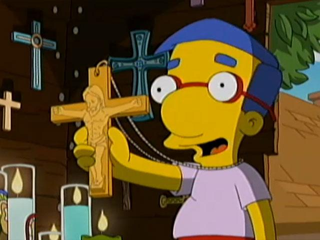 'The Simpsons' Mocks Christianity Calling It A 'Dopey Religion'