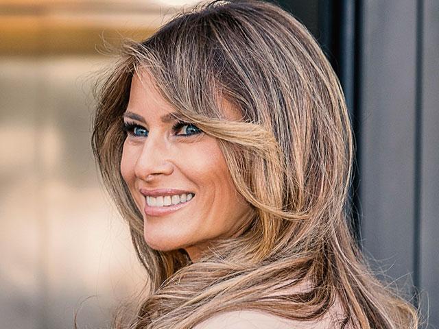Melania Trump Visits Military Families In Alaska Cbn News