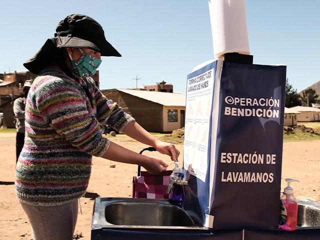 High-Tech Hand-Washing in Peru—Thanks to You!