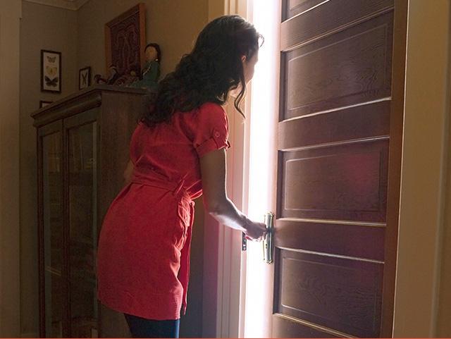woman-opens-door_SI.jpg & Today Is a Good Day to Open the Door | CBN.com