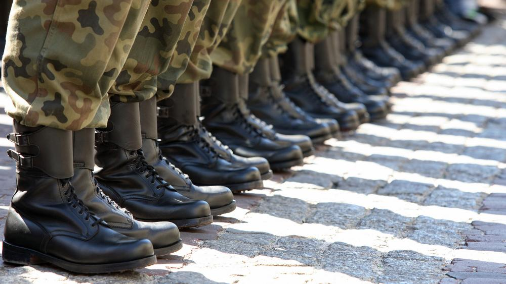 Military Boots, Illustrative