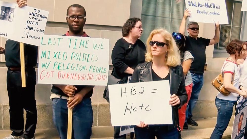 Bitter Fight over North Carolina's Bathroom Law Not Slowing Down
