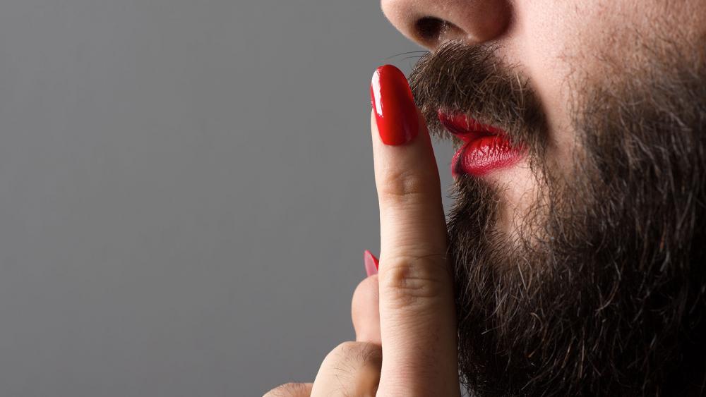 Bearded Man Lipstick AS