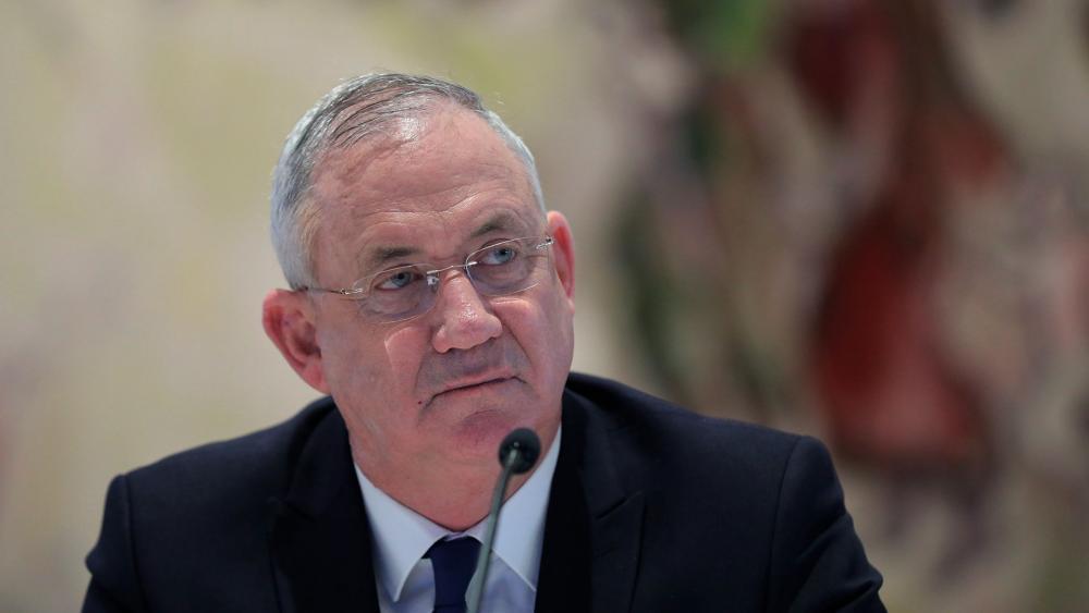 Israeli Defense Minister Benny Gantz (Abir Sultan/Pool Photo via AP, File)