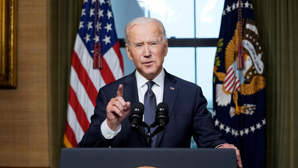 President Joe Biden (AP Photo/Andrew Harnik, Pool)