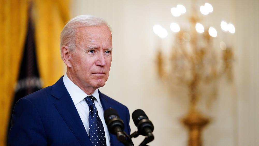 President Joe Biden (AP Photo/Andrew Harnik)