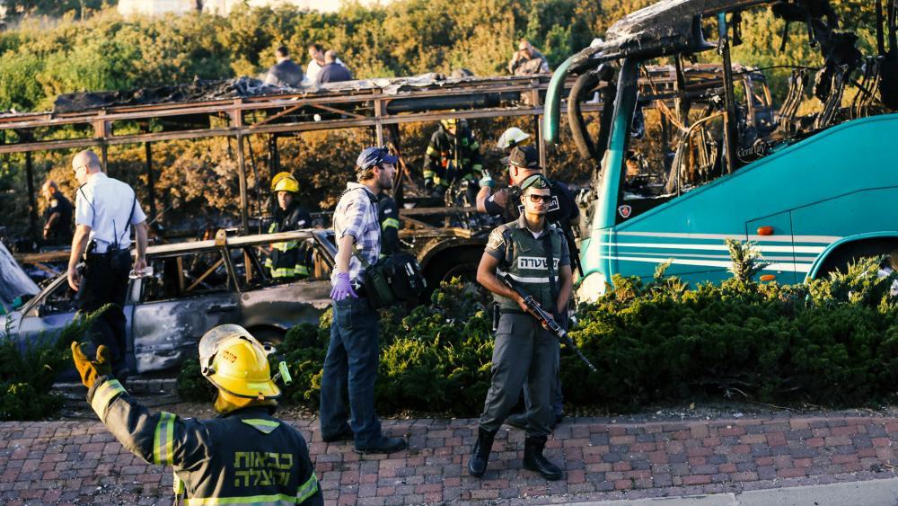 Bus Bombing in Jerusalem