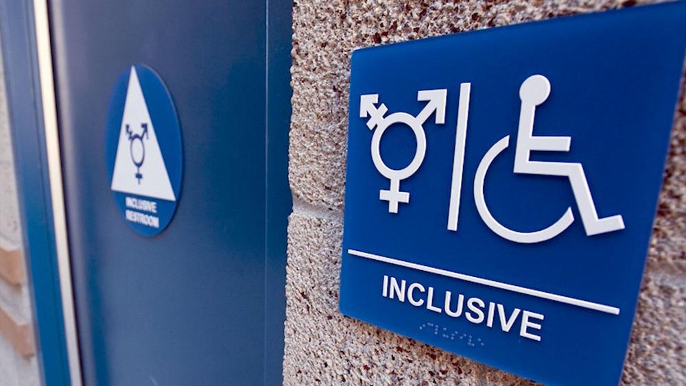 Co-ed bathrooms, transgender