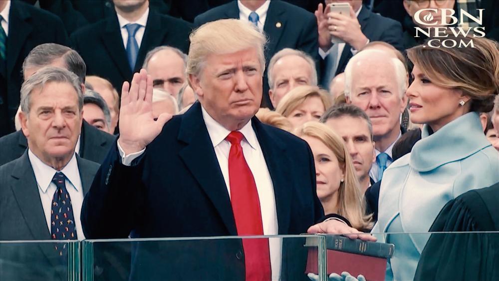 Donald Trump Swearing In