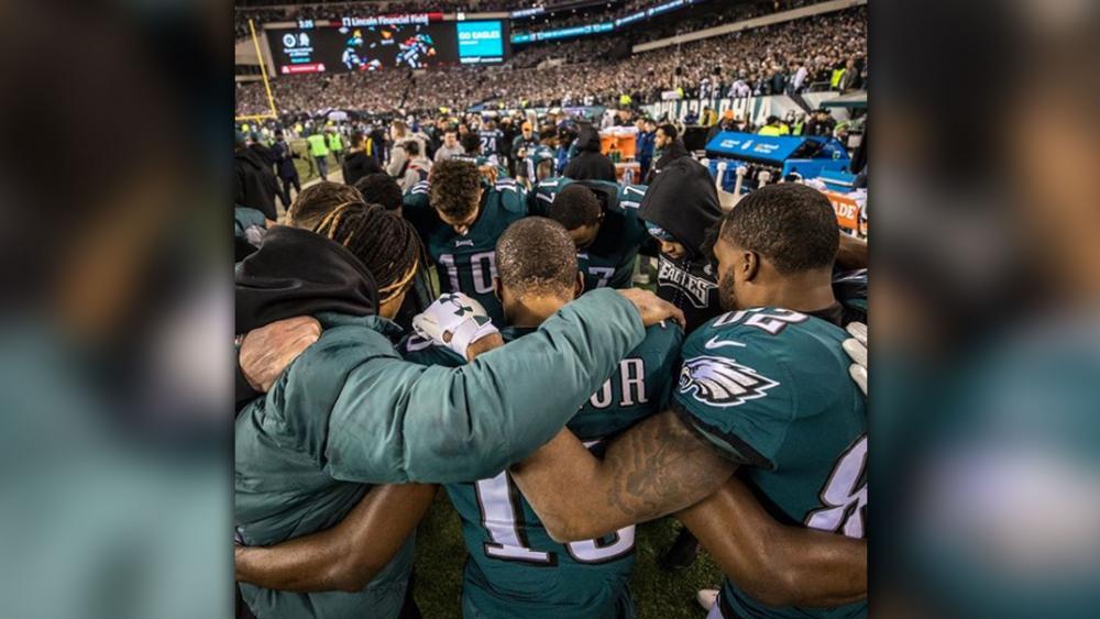 Eagles Praying
