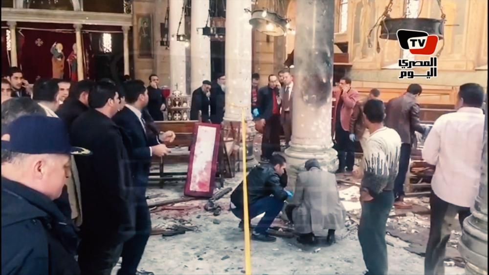 Egypt Church Attack ISIS