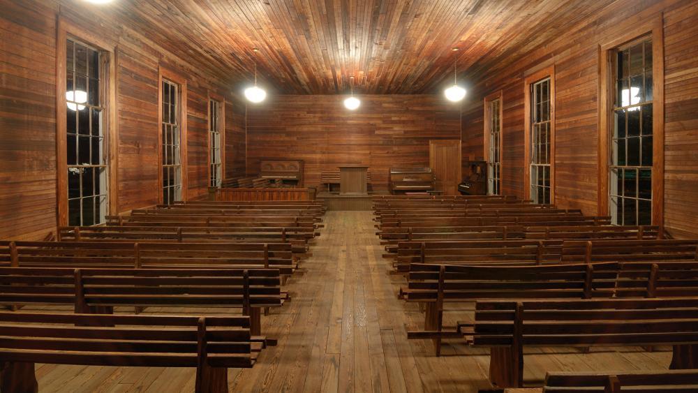 empty pulpit, church