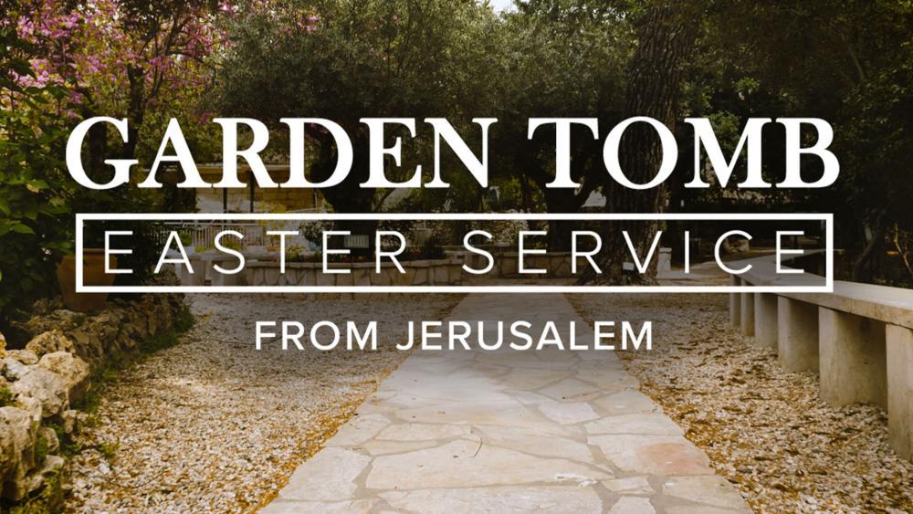 Garden Tomb Easter Sunrise Service, Photo Credit: CBN News