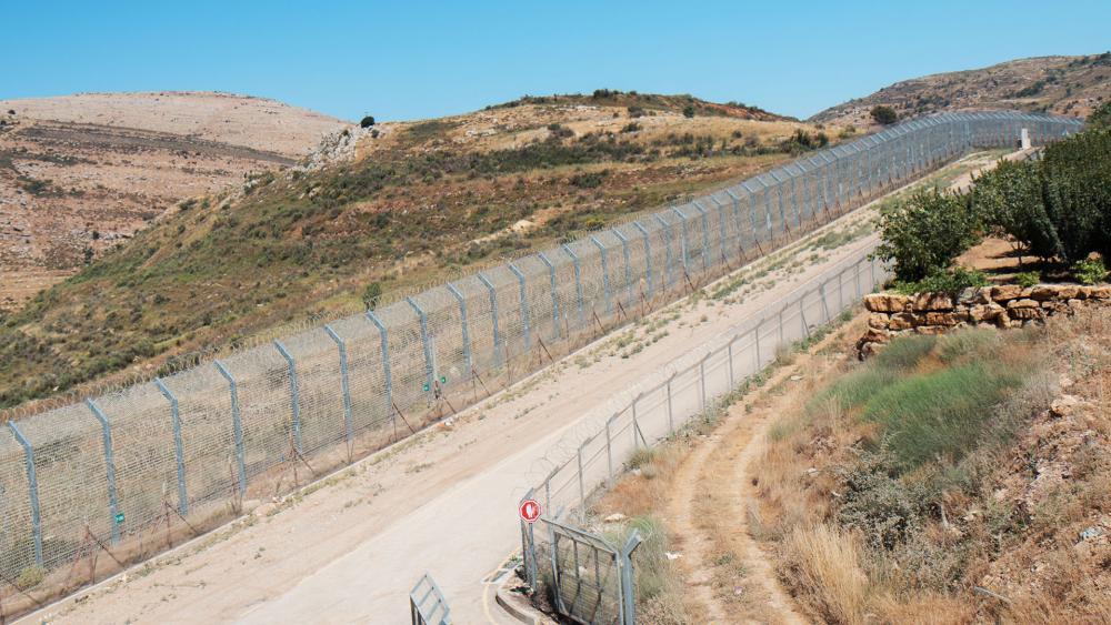 golan heights syria border
