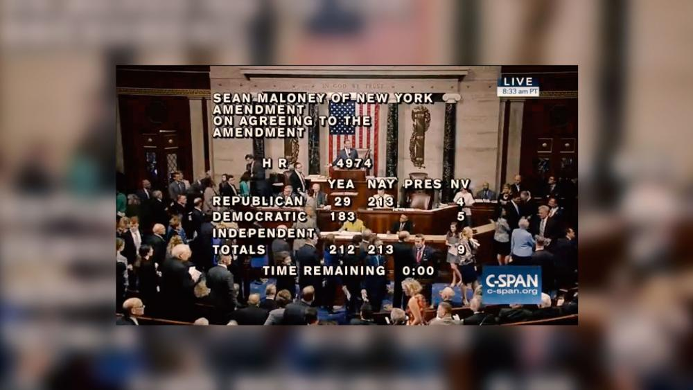 House Votes Amendments