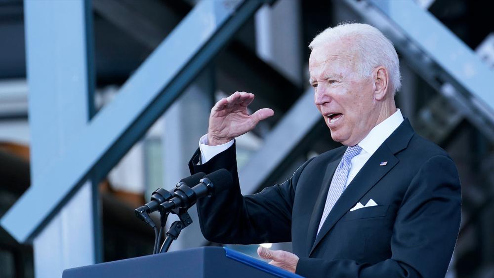 President Joe Biden (AP photo)