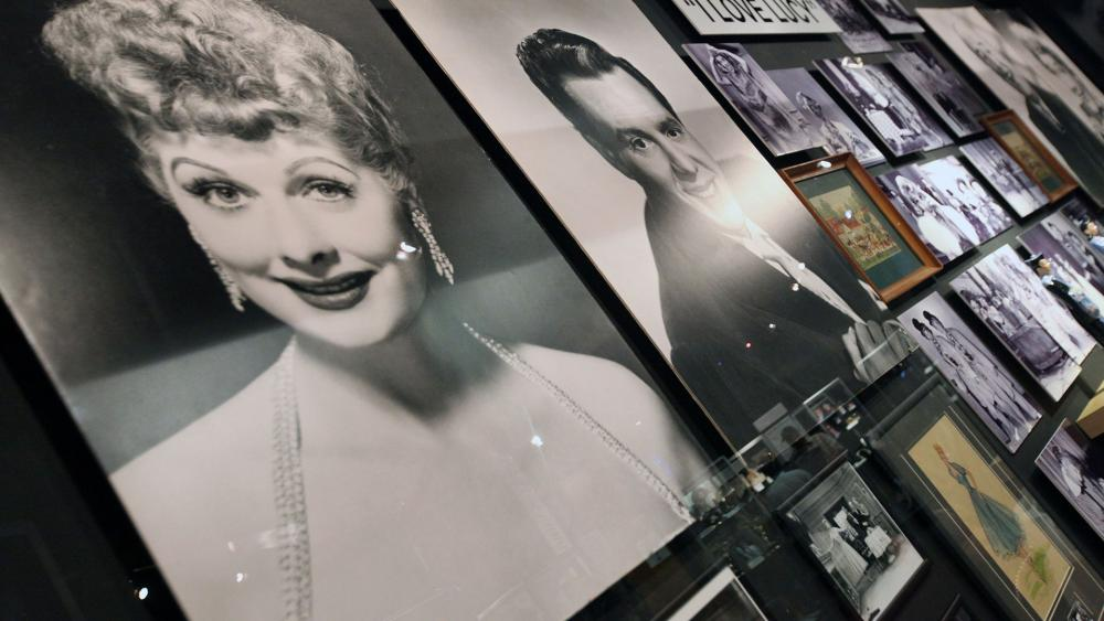 """Photos from the """"I Love Lucy"""" collection from CBS Home Entertainment and Paramount Home Entertainment. (Casey Rodgers/AP Images for CBS DVD)"""