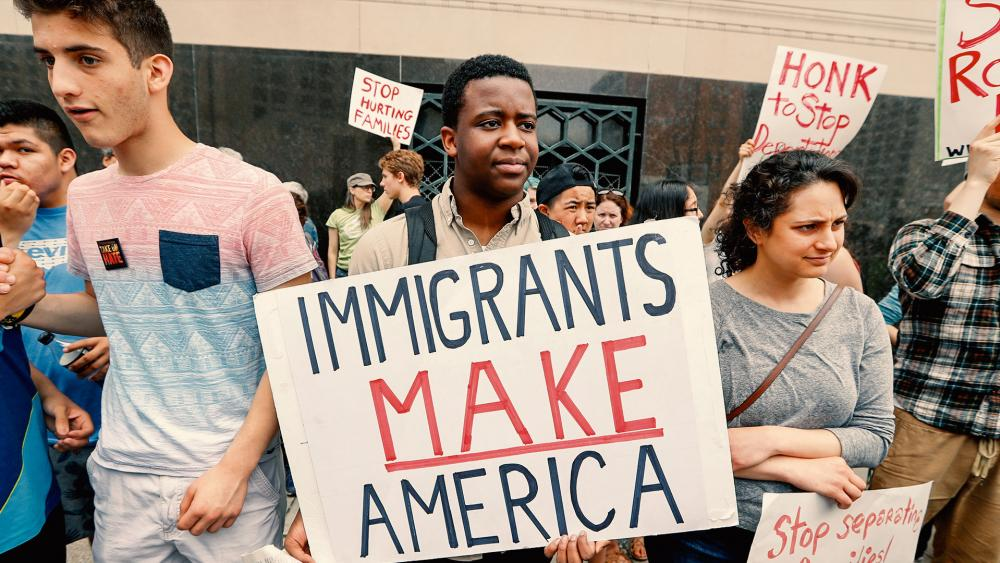 Immigration Rally AP