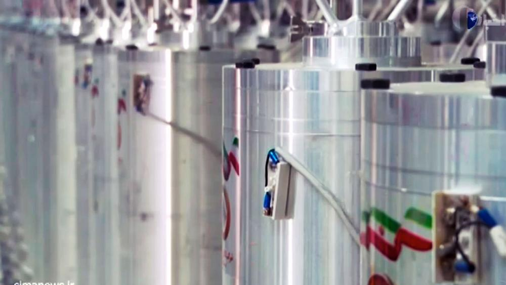 In this image made from April 17, 2021, video released by Iran shows various centrifuge machines at the Natanz Uranium Enrichment Facility.