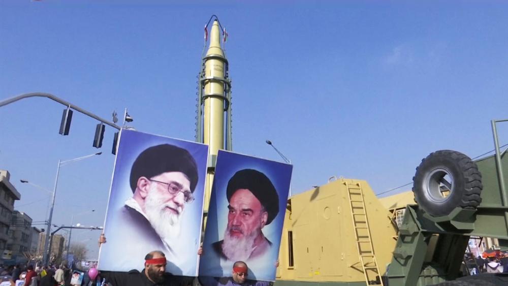 iran ballistic missile parade