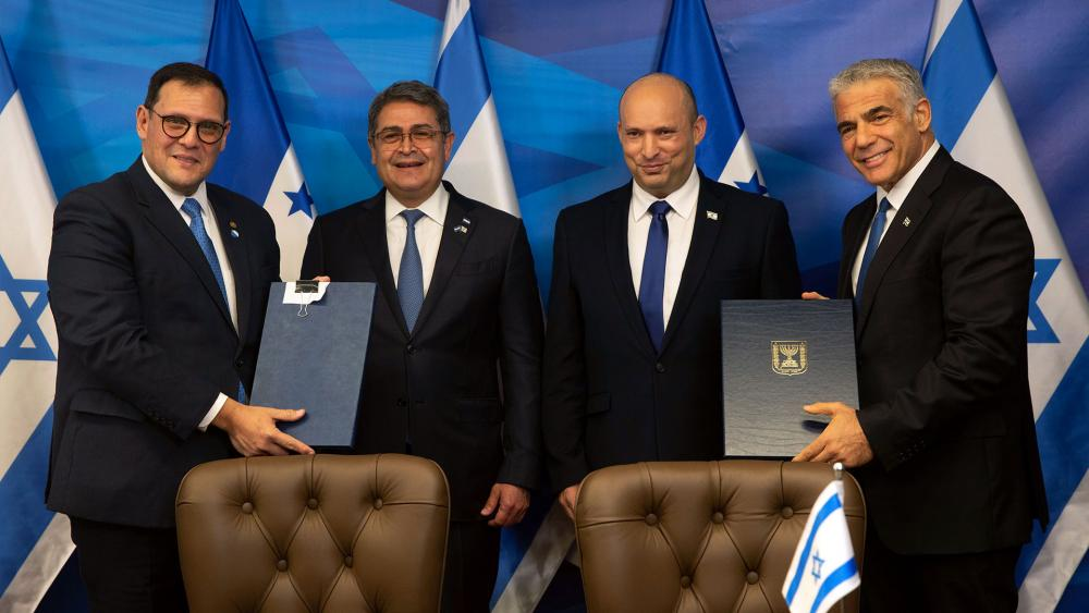 Honduras moves their embassy to Jerusalem. Photo: AP