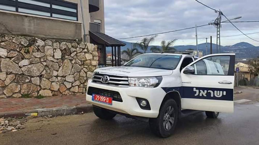 Israeli Police Vehicle
