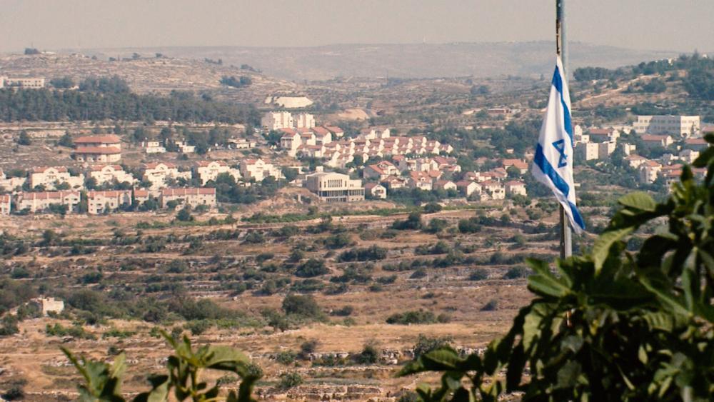 Israeli Community in Samaria, Photo CBN News, Jonathan Goff