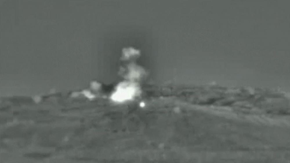 Israel Strikes Target in Syria, June 2019