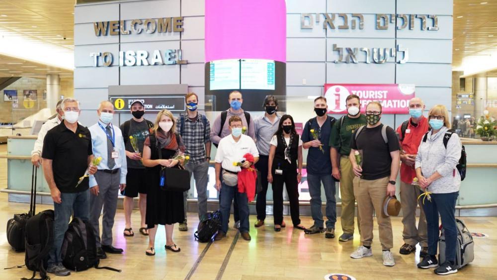 Israel Tourism Begins Again 2021. Ben Gurion Airport. Photo: Michael Dimenstein (GPO)