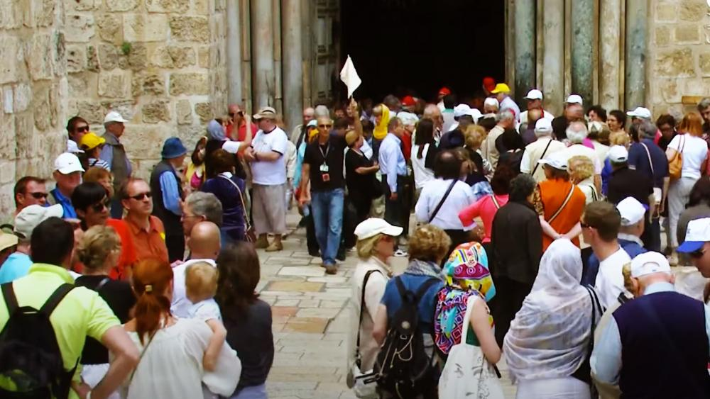 Tourists in Jerusalem, Photo Credit: CBN News