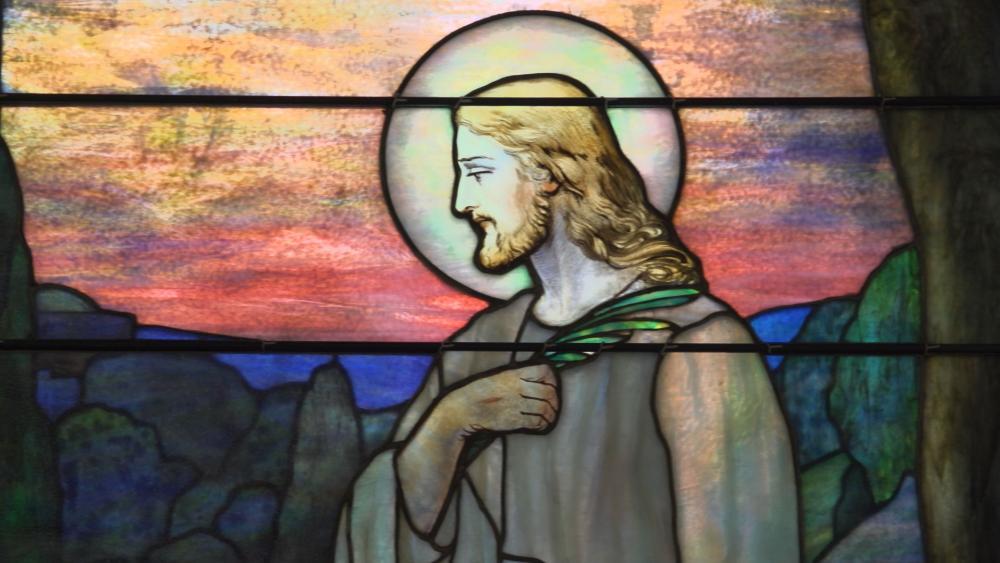 Jesus Stain Glass Window