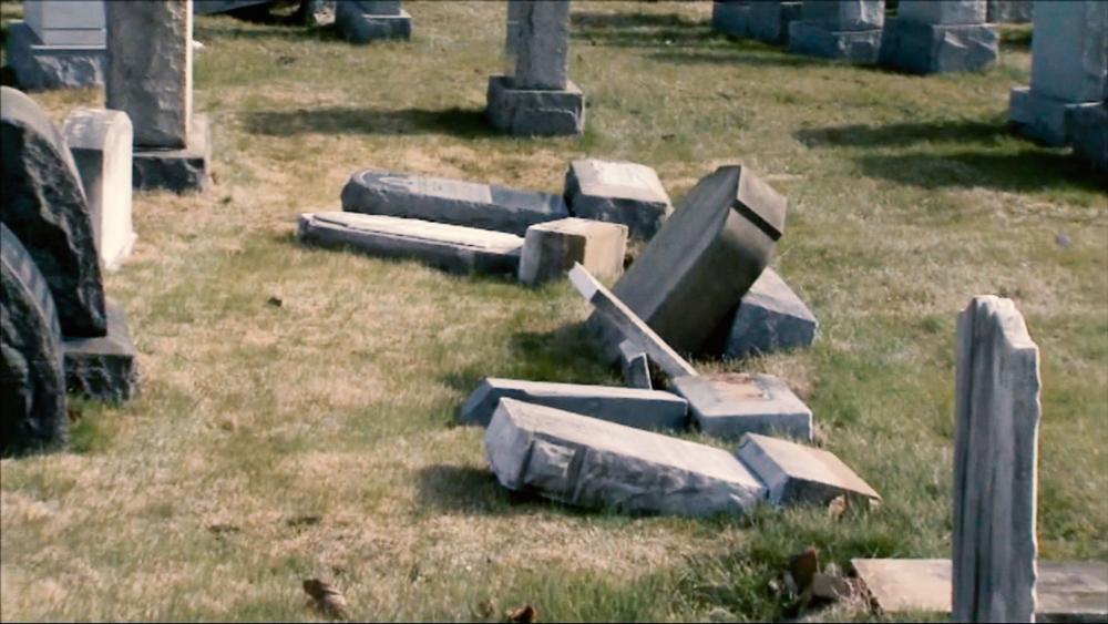Jewish Cemetary Headstones